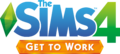 File:The Sims 4 Get to Work Logo.png