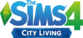 File:The Sims 4 City Living Logo.png